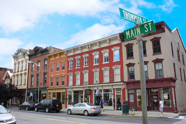 main street catskill