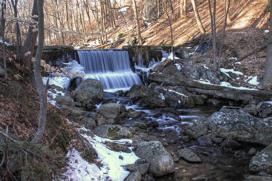 waterfalls along hike
