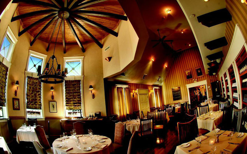 dining room at rothmann's