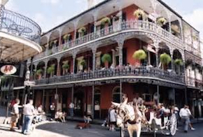 Cheap hotels in New Orleans, Louisiana