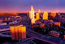 Cheap hotels in Cincinnati, Ohio